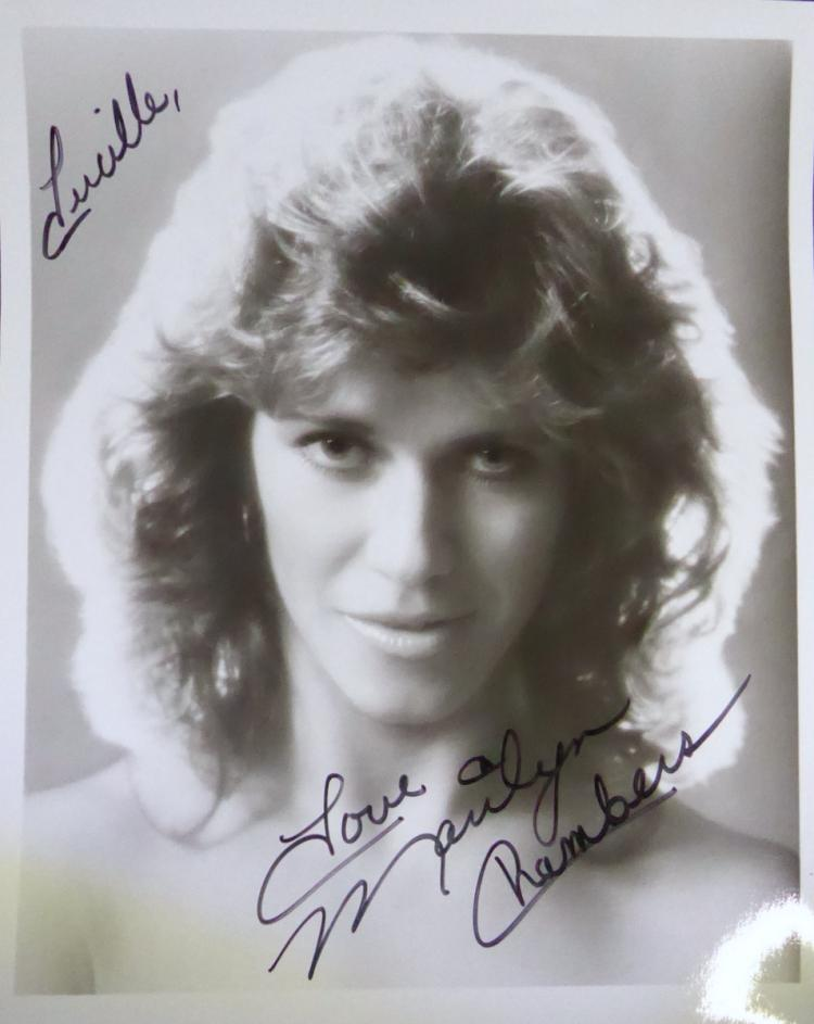 Porn Actress MARILYN CHAMBERS - Photo Signed