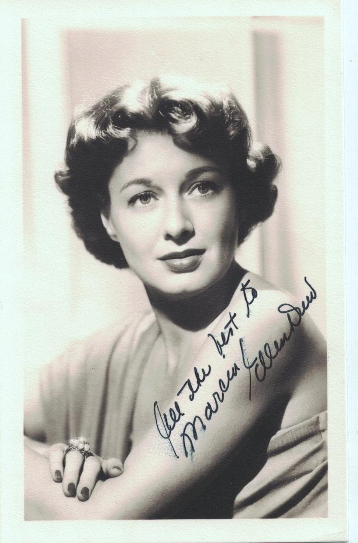 Actress ELLEN DREW - Photo Signed