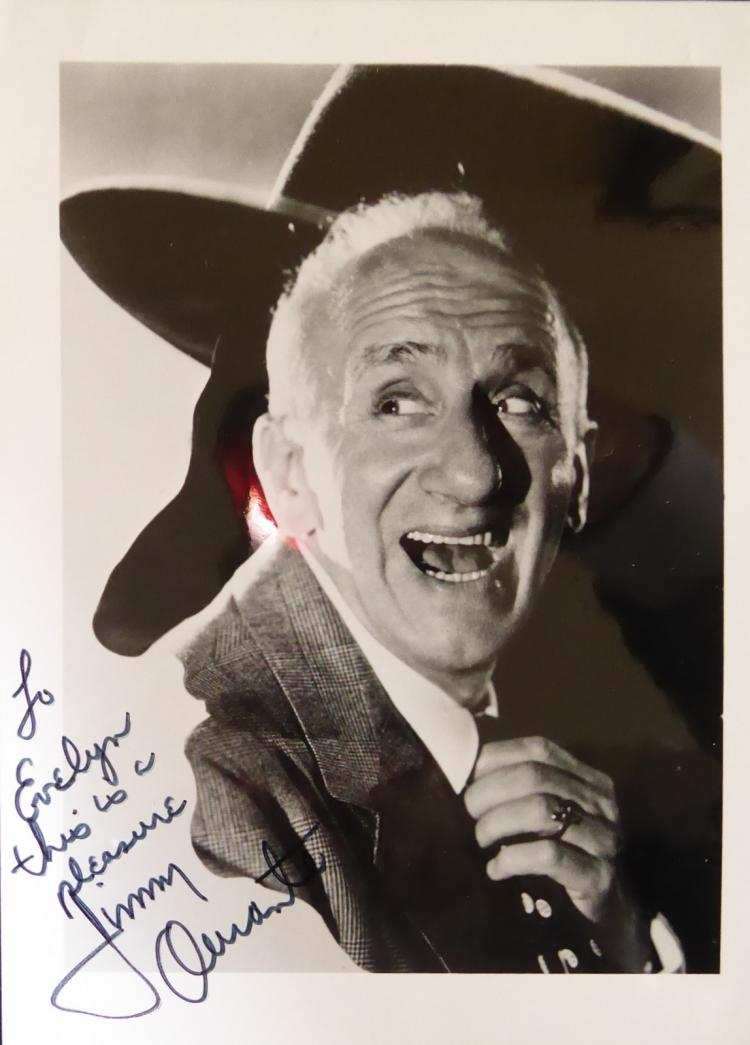 Pianist, Comic JIMMY DURANTE - Photo Signed