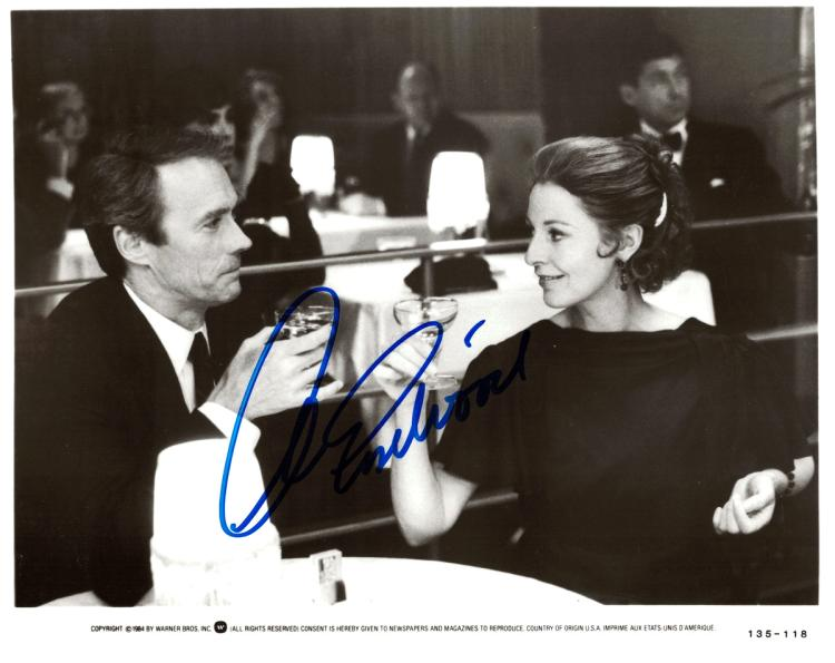 CLINT EASTWOOD - Movie Photo Signed