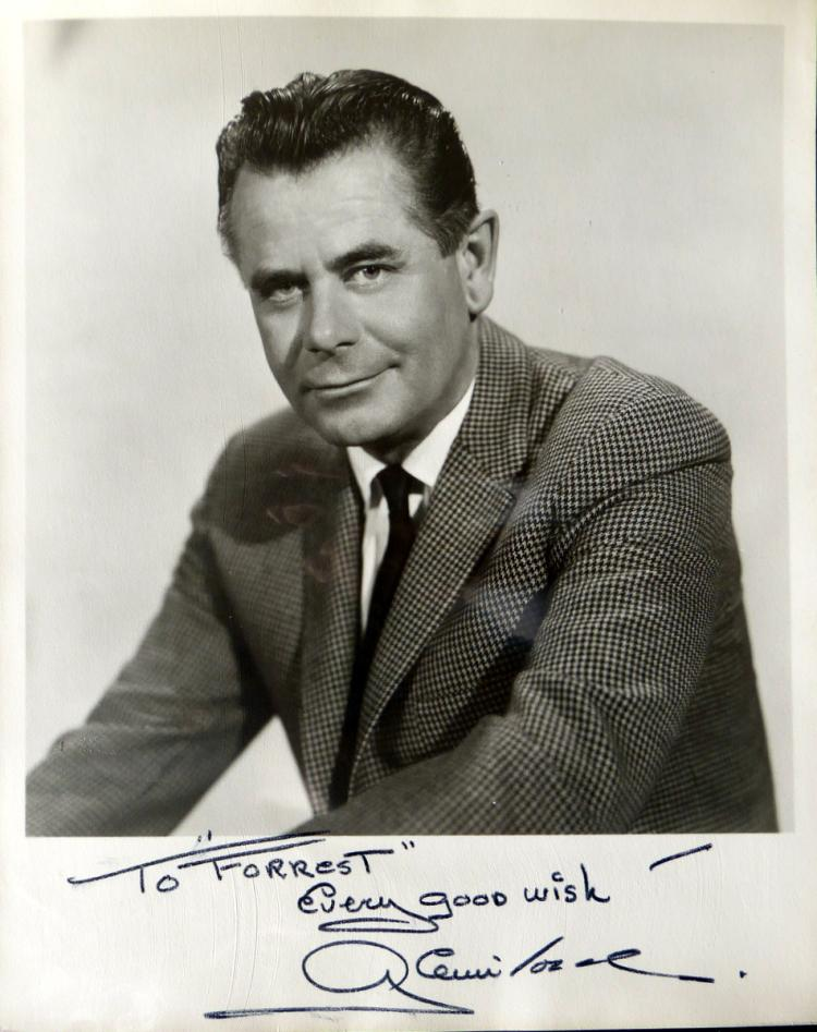 Actor GLENN FORD - Photo Signed