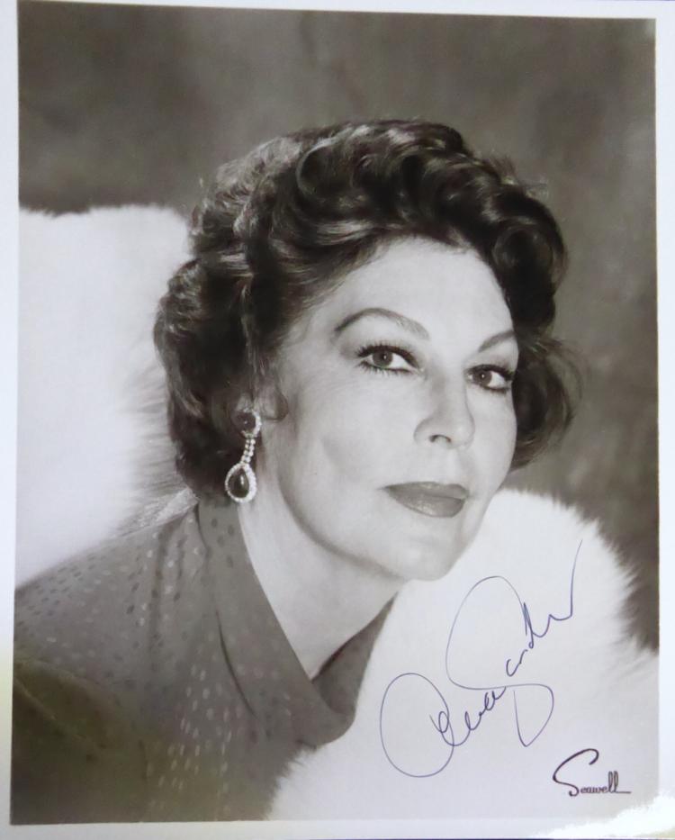 Actress AVA GARDNER - Photo Signed