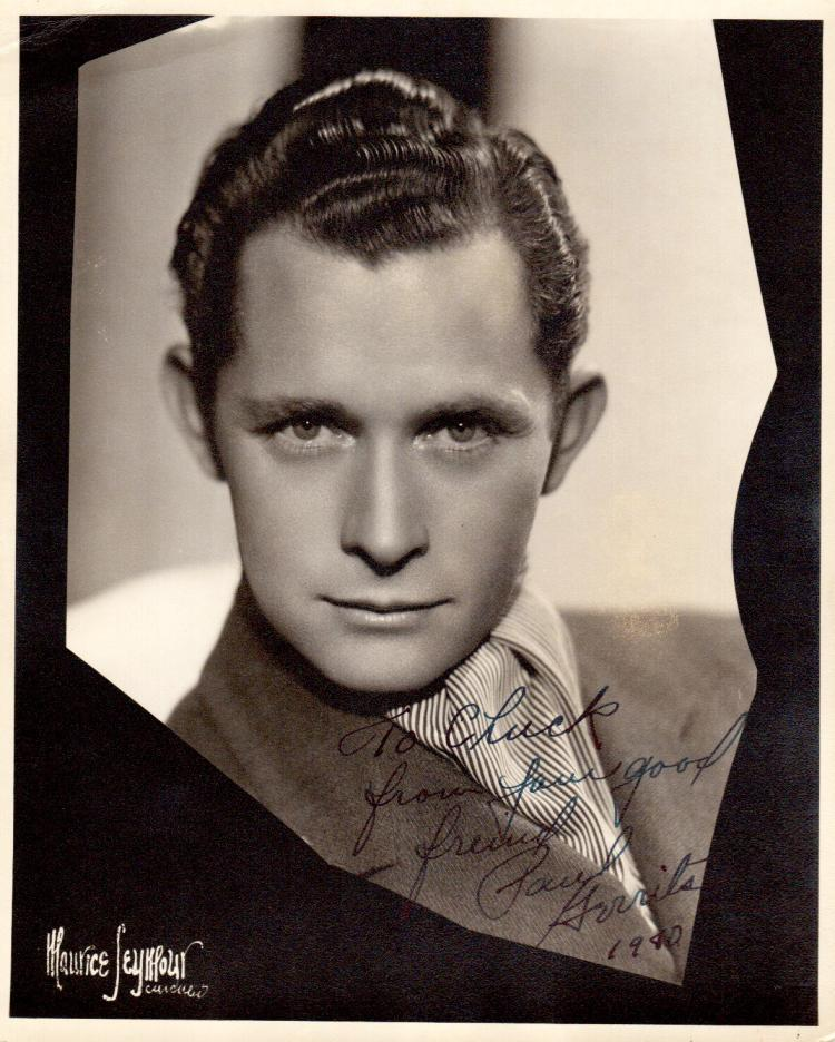 Actor PAUL GERRITS - Photo Signed