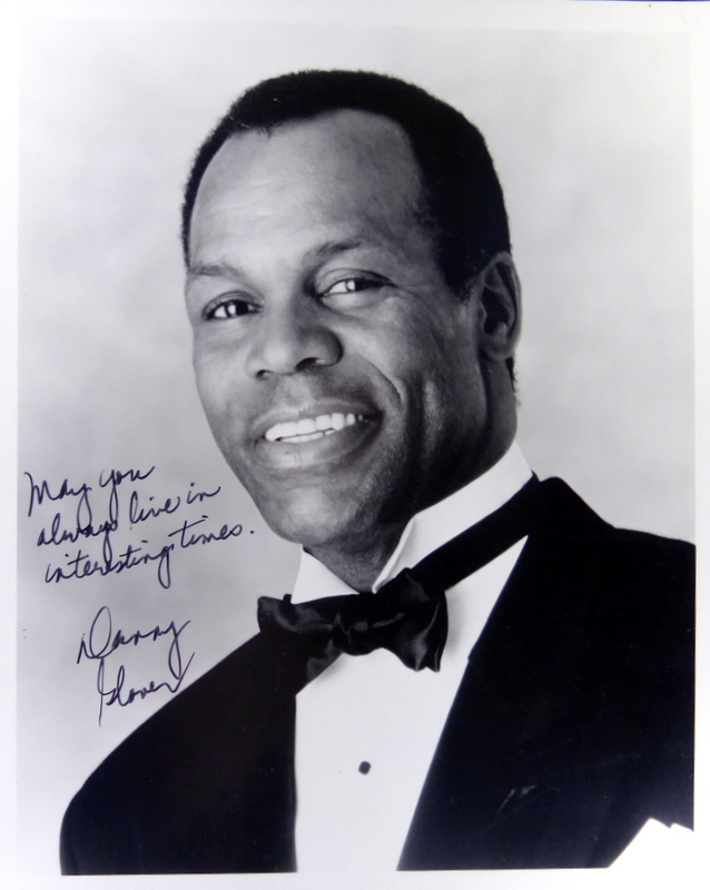 Actor DANNY GLOVER - Photo Signed