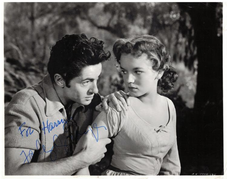 Actor FARLEY GRANGER - Photo Signed