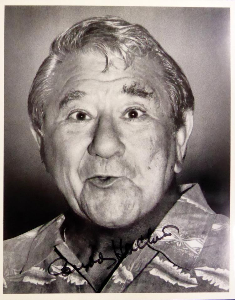Comedian, Actor BUDDY HACKETT - Photo Signed