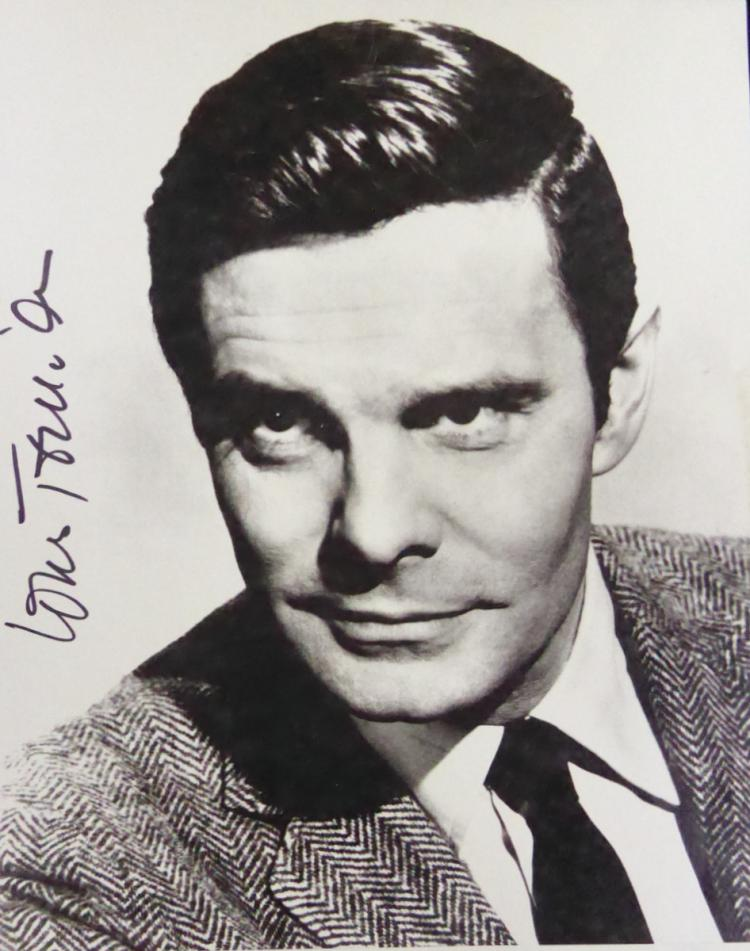 French Actor LOUIS JOURDAN - Photo Signed