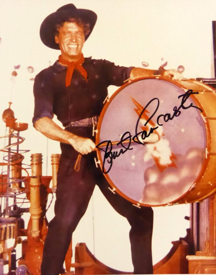 Actor BURT LANCASTER - Movie Still Signed
