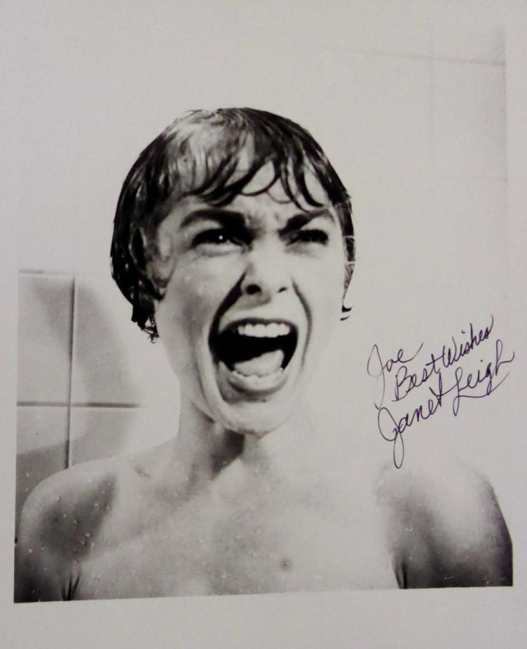 Actress JANET LEIGH -