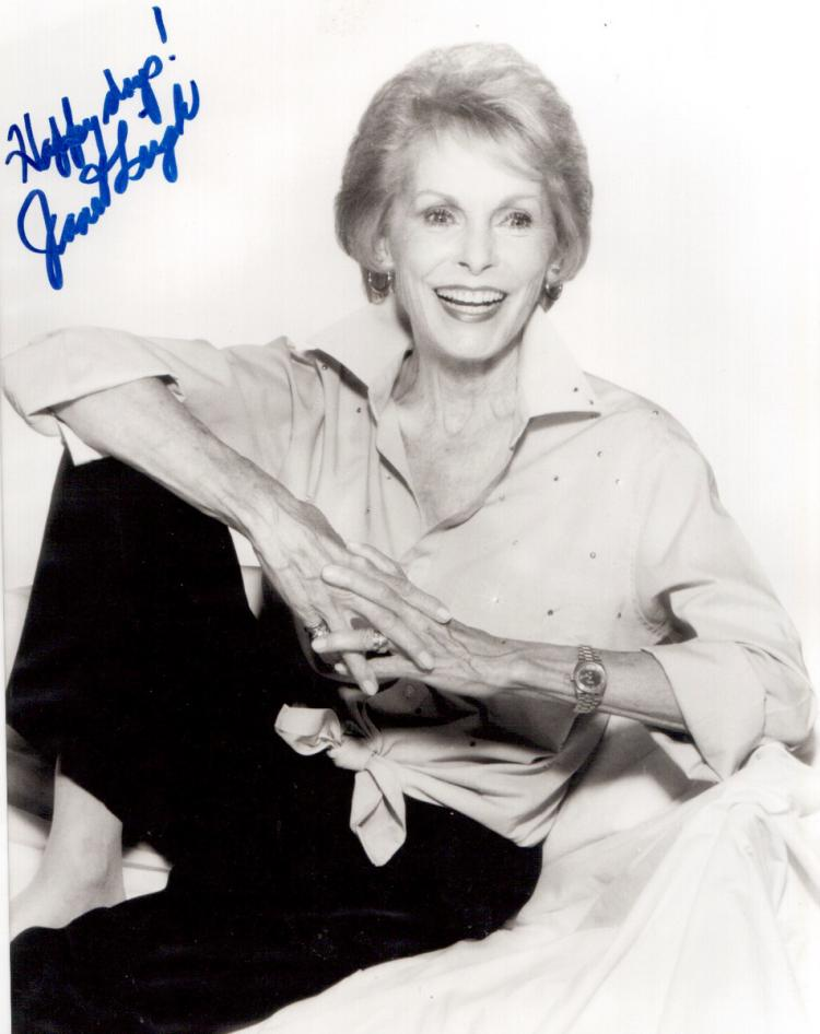 JANET LEIGH - Photo Signed