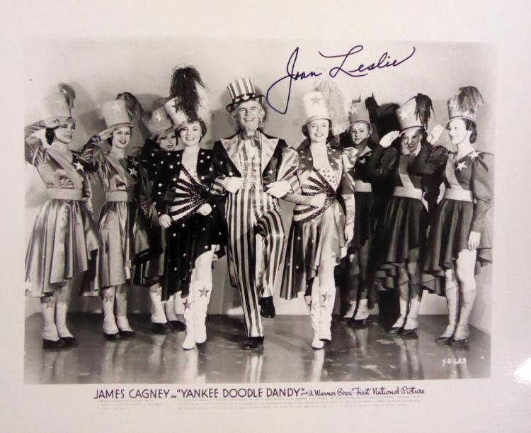 Actress JOAN LESLIE - Movie Photo Signed