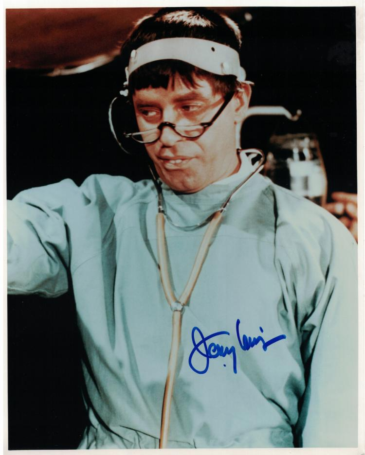Comedian, Actor JERRY LEWIS - Movie Photo Signed