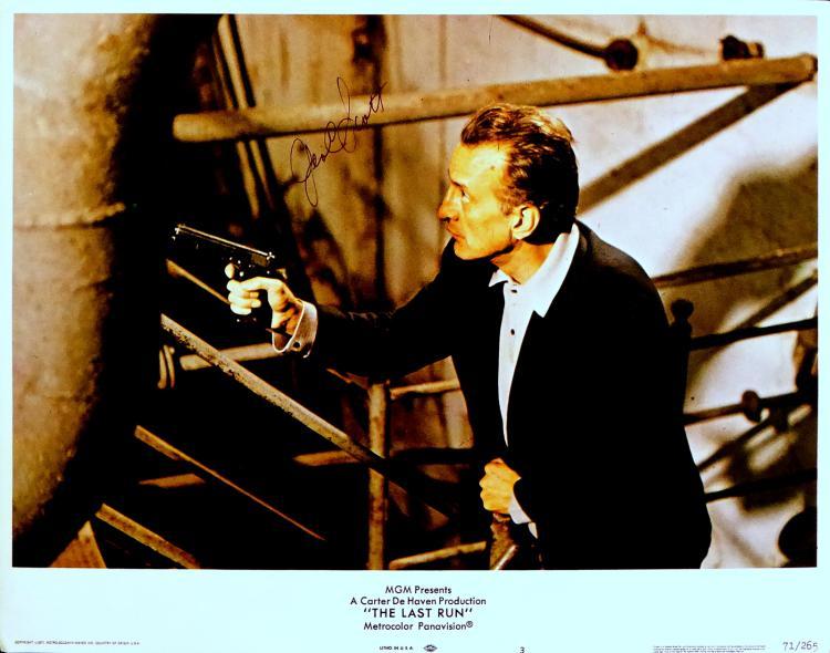 Actor GEORGE C SCOTT - Lobby Card Signed