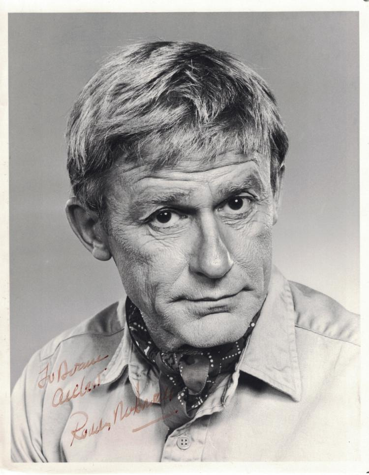 British Actor RODDY McDOWELL - Photo Signed