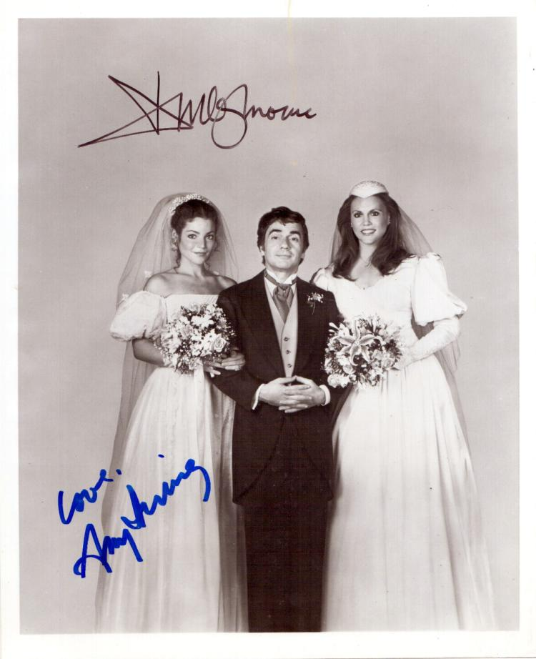 Actors DUDLEY MOORE & AMY IRVING - Movie Still Signed