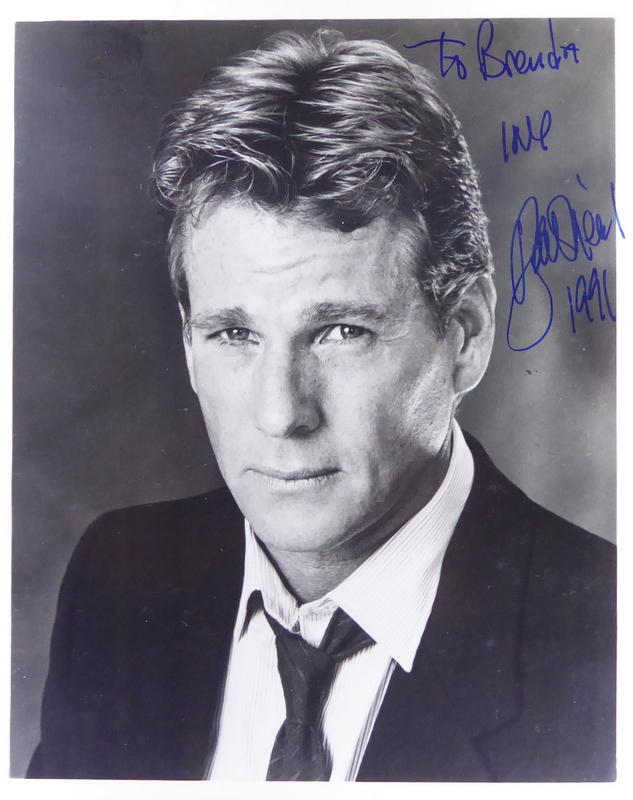 Actor RYAN O'NEAL - Photo Signed
