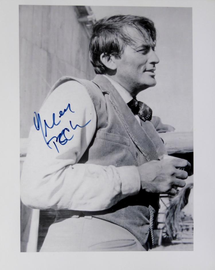 Actor GREGORY PECK - Movie Still Signed