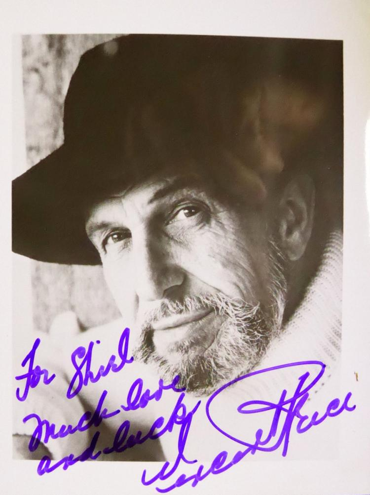 Actor VINCENT PRICE - Photo Signed
