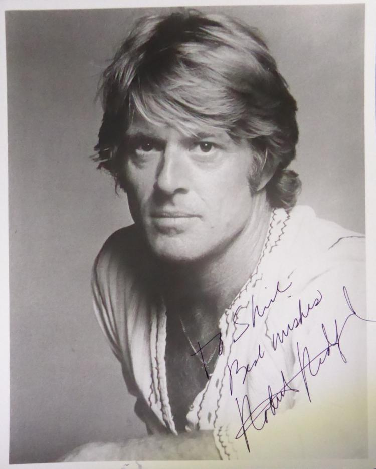 ROBERT REDFORD - Photo Signed