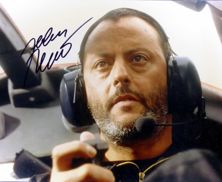 French Actor JEAN RENO - Photo Signed