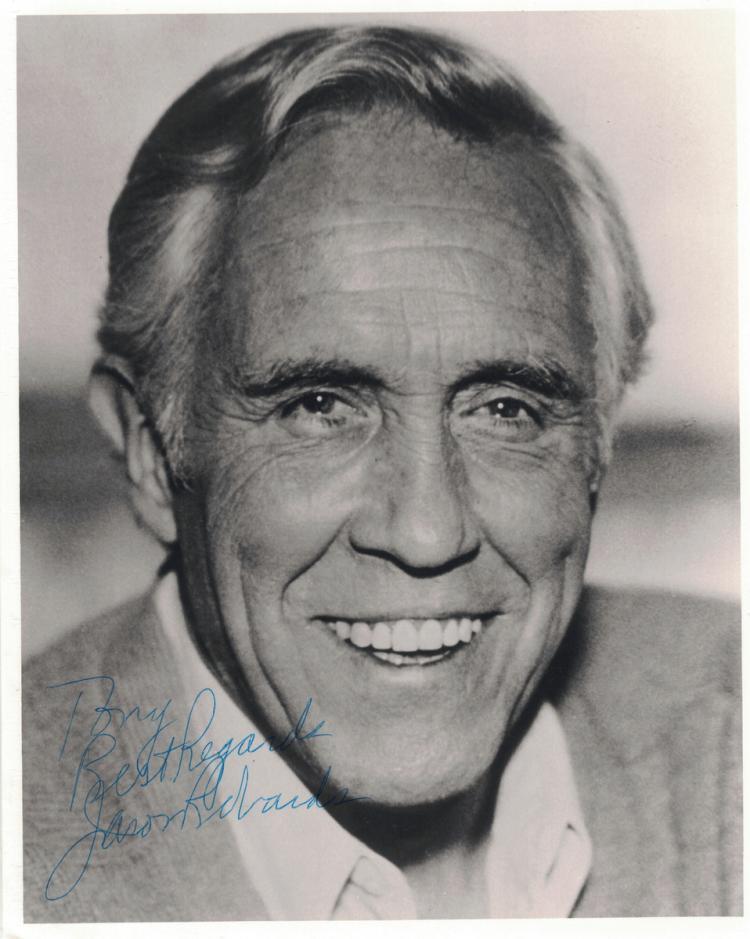 Actor JASON ROBARTS - Photo Signed