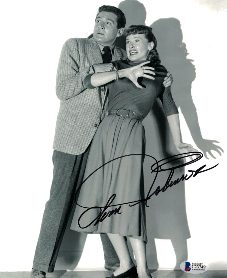 Actress ANN ROBINSON - Movie Photo Signed
