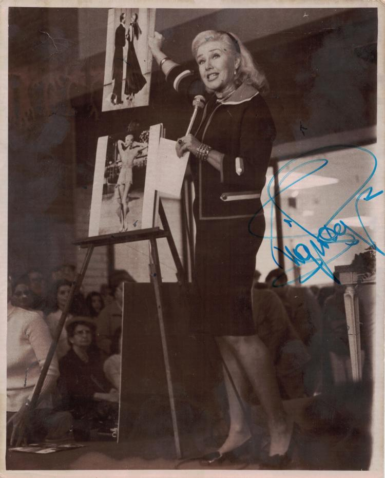 Actress GINGER ROGERS - Photo Signed