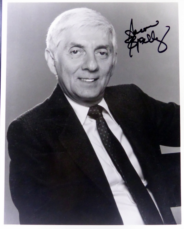 Producer AARON SPELLING - Photo Signed