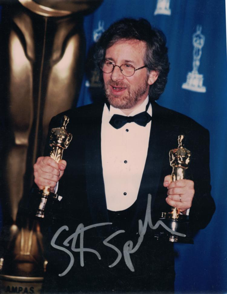Director STEVEN SPIELBERG - Photo Signed