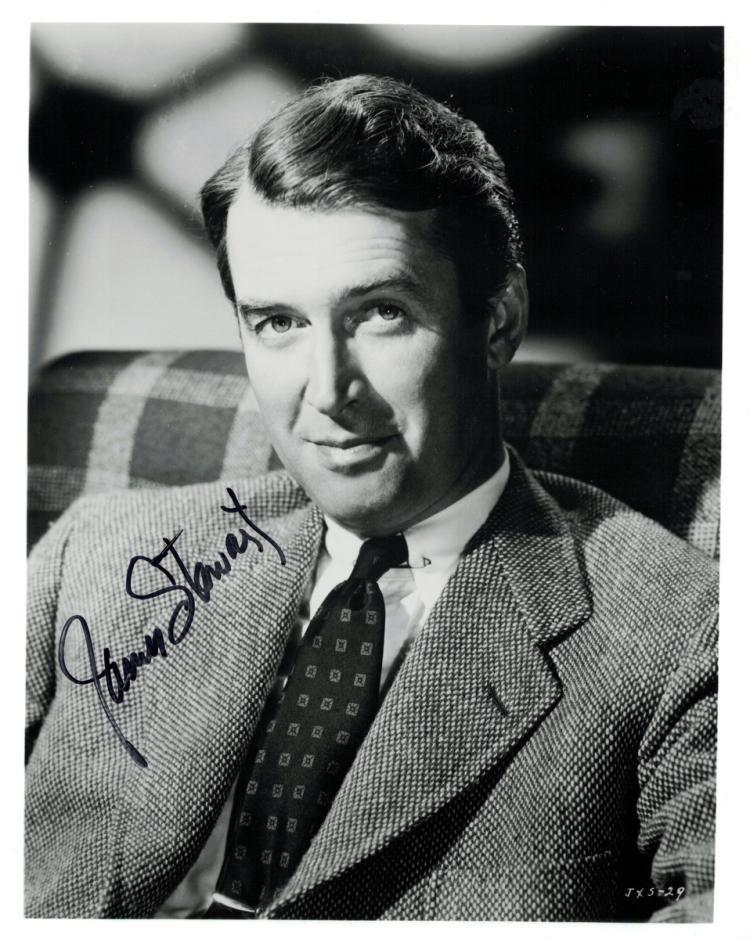JAMES STEWART - Photo Signed