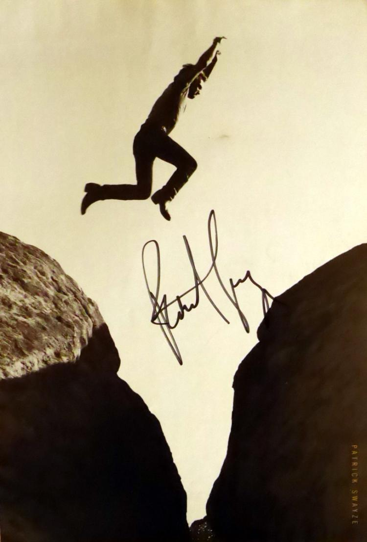 Actor PATRICK SWAYZE - Photo Signed aslo YOAKAM