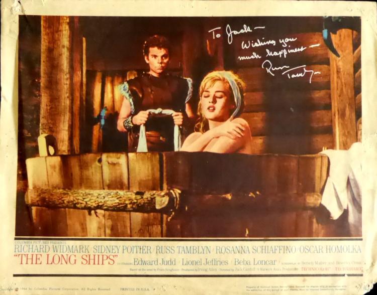 Actor RUSS TAMBLYN - Lobby Poster Signed
