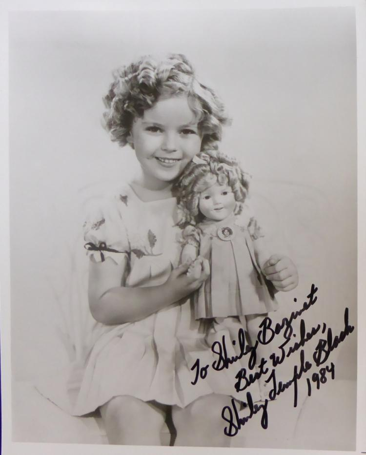 SHIRLEY TEMPLE - Child Photo Signed