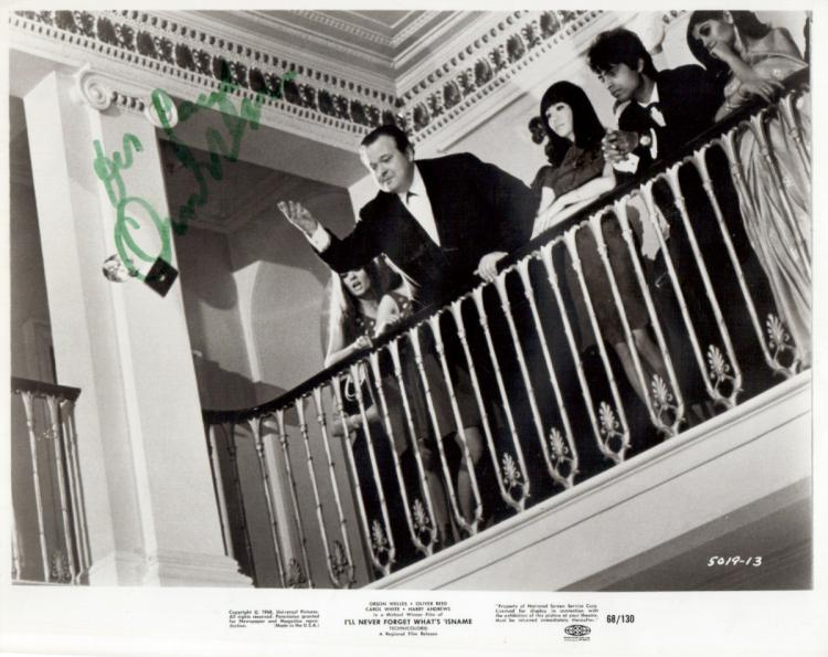 Actor ORSEN WELLES - Photo Signed