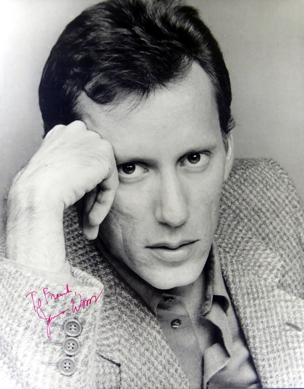 Actor JAMES WOODS - Photo Signed