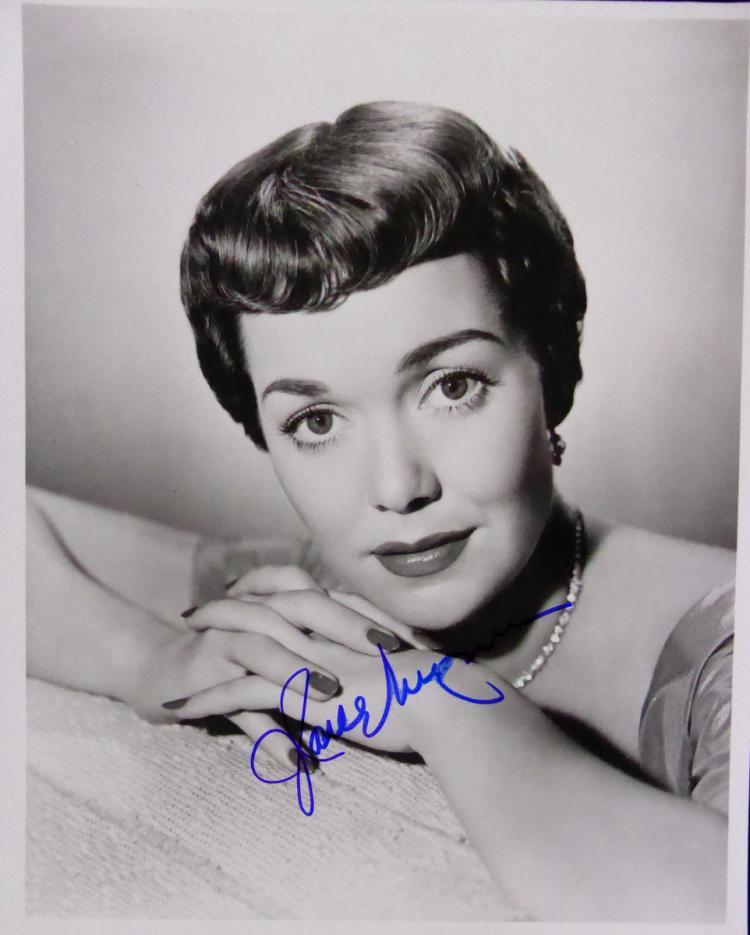 Actress JANE WYMAN - Photo Signed
