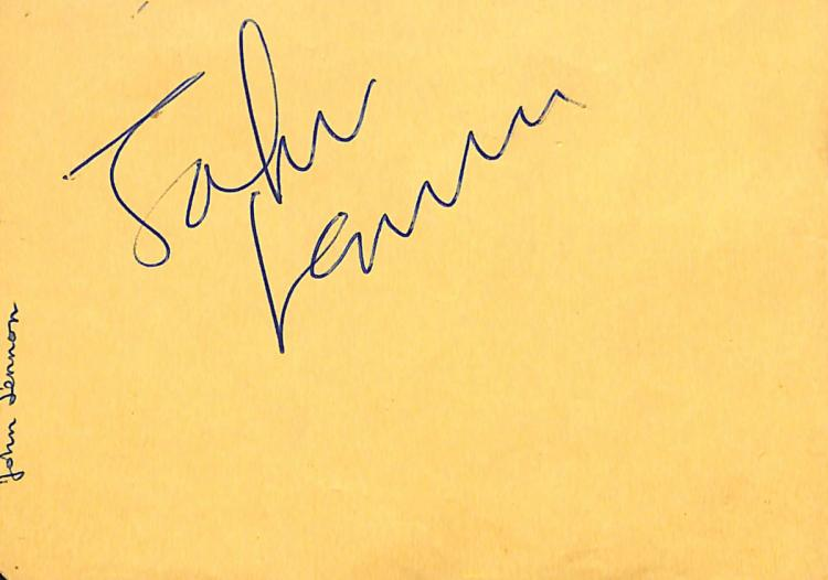 THE BEATLES - Album Pages Signed IMPECIBLE PROVENANCE