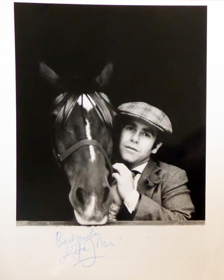 British Singer, Songwriter ELTON JOHN - Photo Signed
