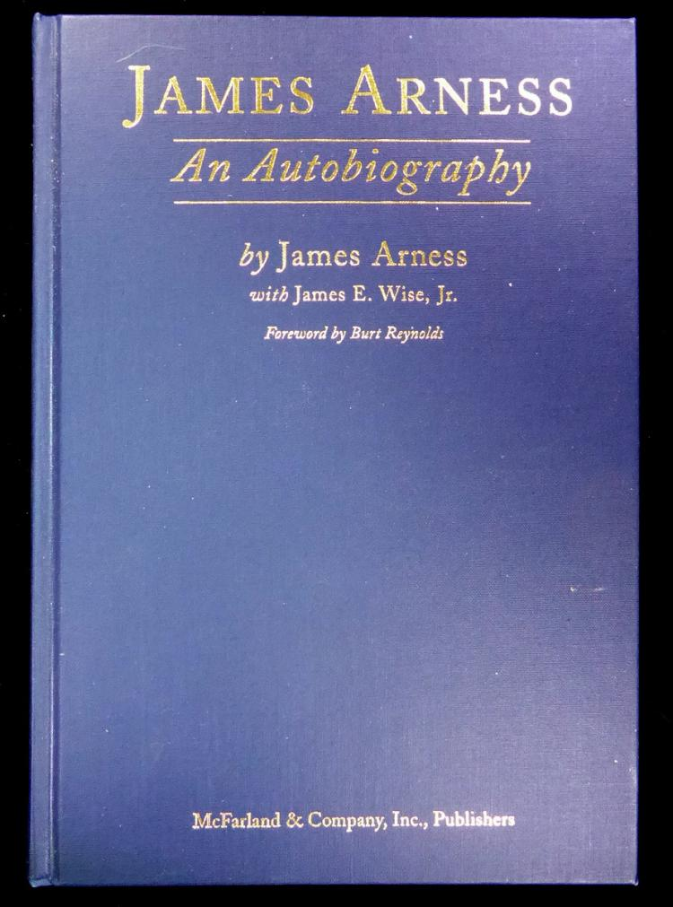 Actor JAMES ARNESS - His Book Signed 1st Ed