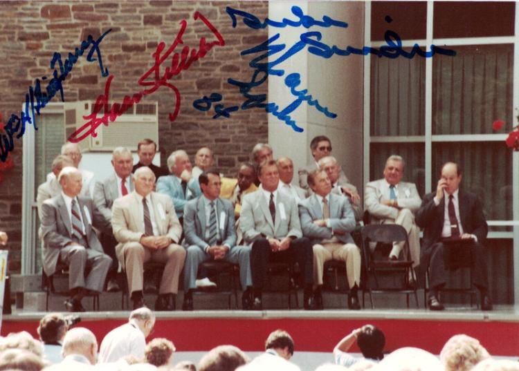 HOF Induction - Snapshot Signed By Four Members