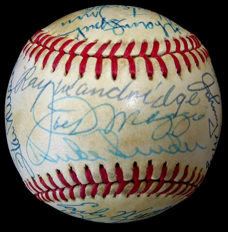 Hall of Famers - Baseball Signed by 25 Members