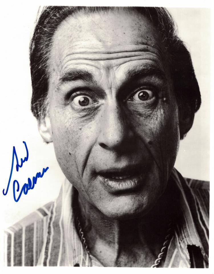 Comedian SID CAESAR - Photo Signed
