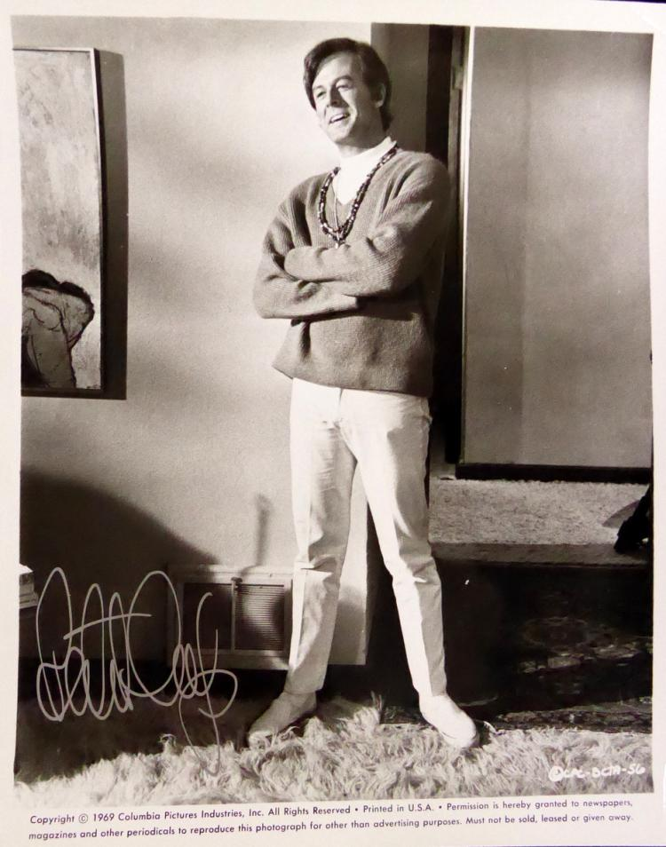 Actor ROBERT CULP - Photo Signed