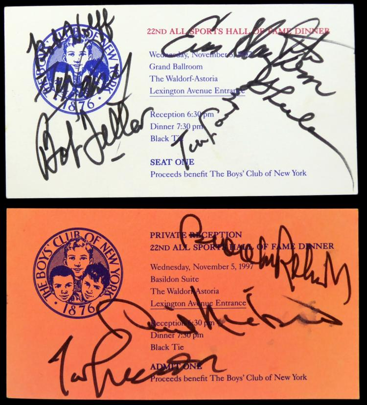 1997 All Sports Dinner Program Signed by TEN