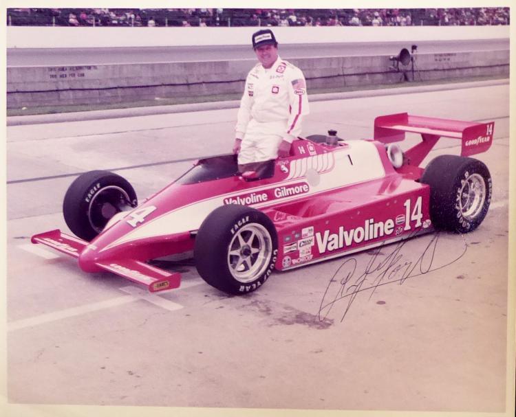 Auto Racer A J FOYT - Photo Signed