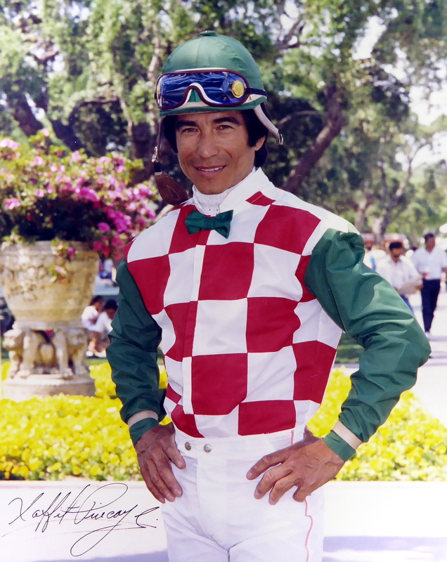 Jockey LAFFIT PINCAY, JR - Photo Signed