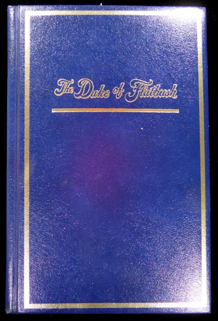 Dodger DUKE SNIDER - His Ltd Ed Book Signed