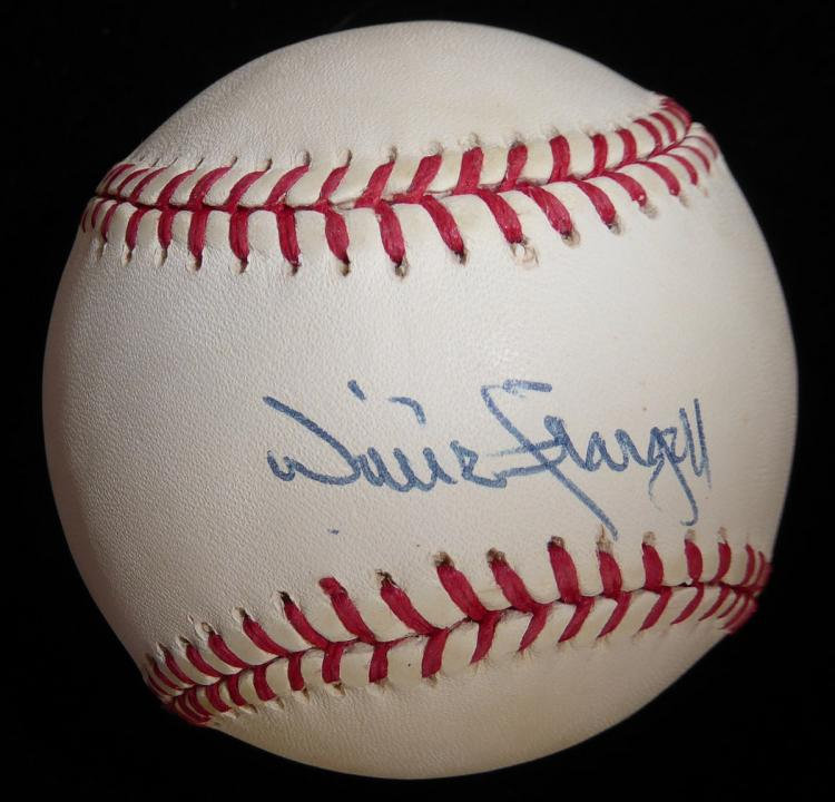 Pirate WILLIE STARGELL - Baseball Signed