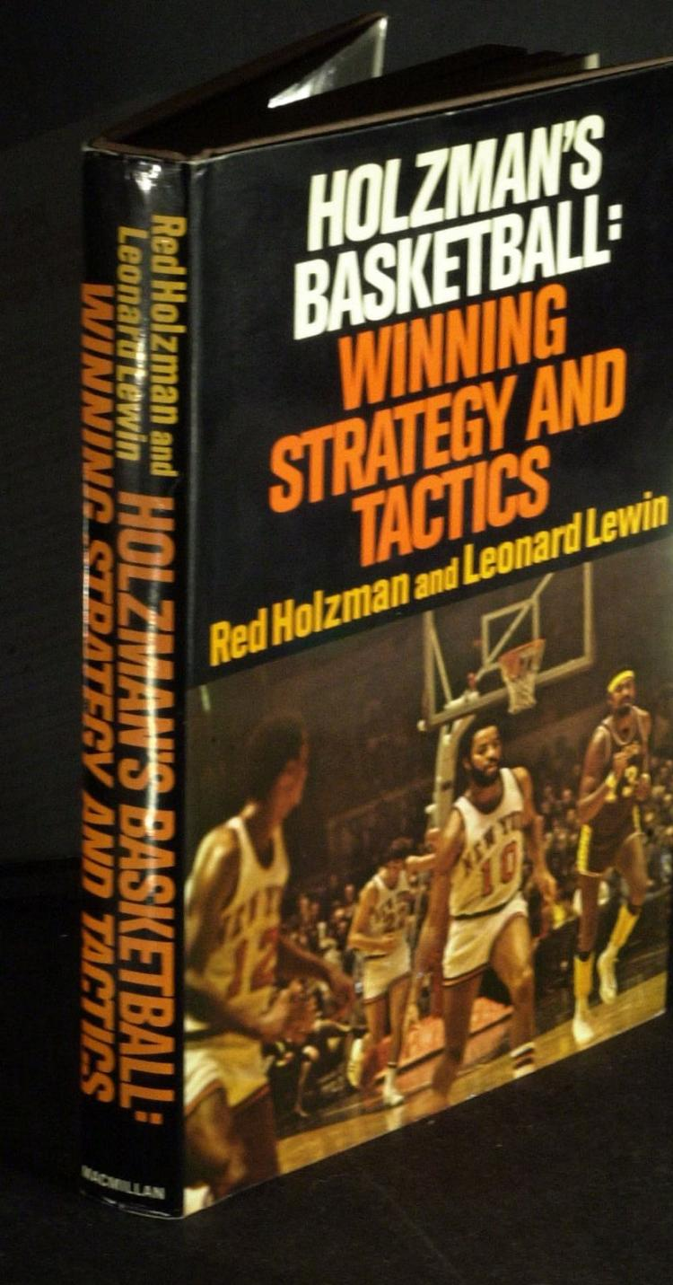 Knicks Coach RED HOLZMAN - His Book Signed, 1st Ed
