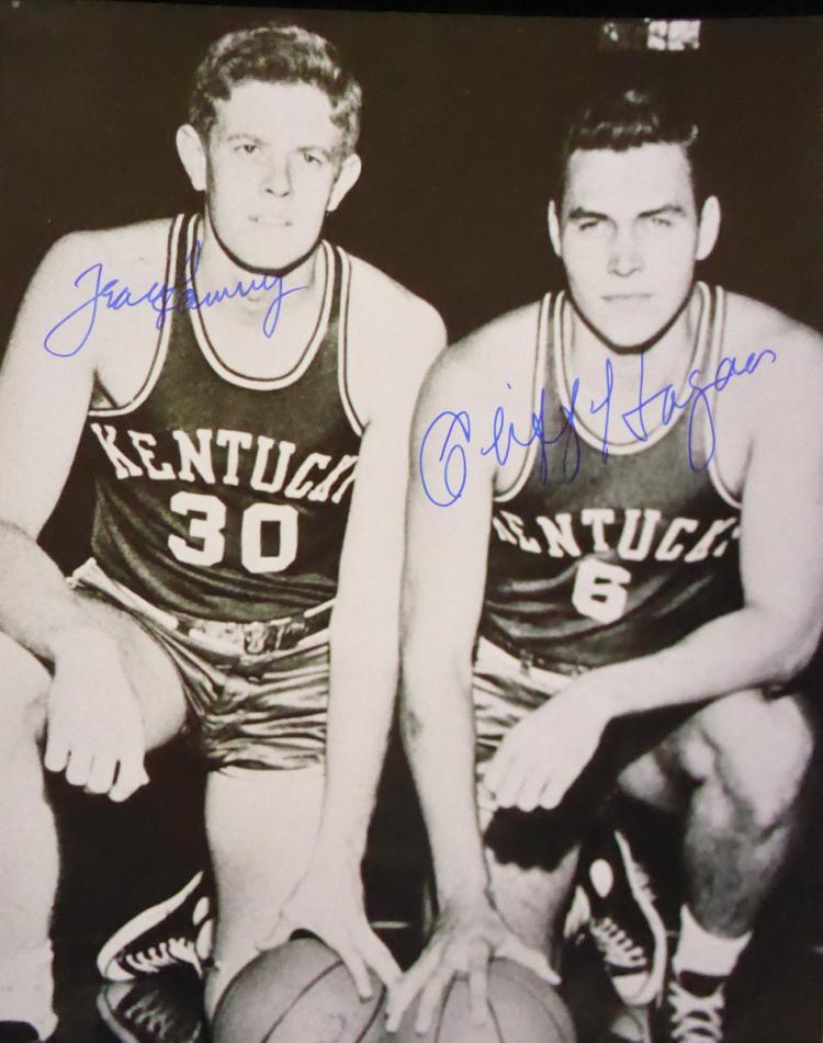 Kentucky Hoops - FRANK RAMSEY & CLIFF HAGAN